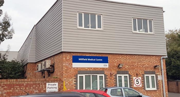 Commercial building work medical