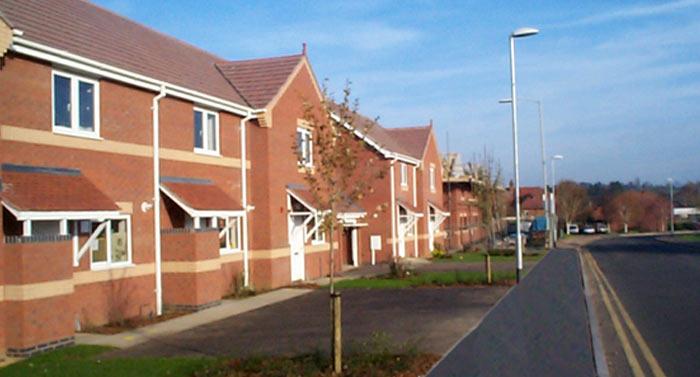New Build House Estate Market Harborough